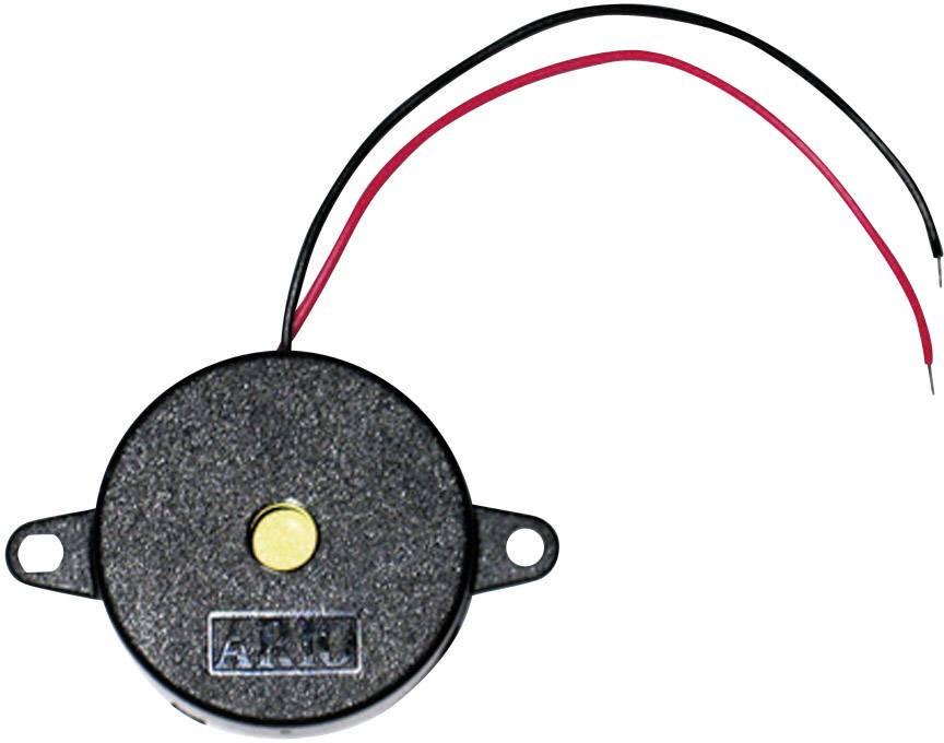 Piezo bzučák TRU COMPONENTS 717609, 9 V, 90 dB, nepřerušovaný tón, 1 ks