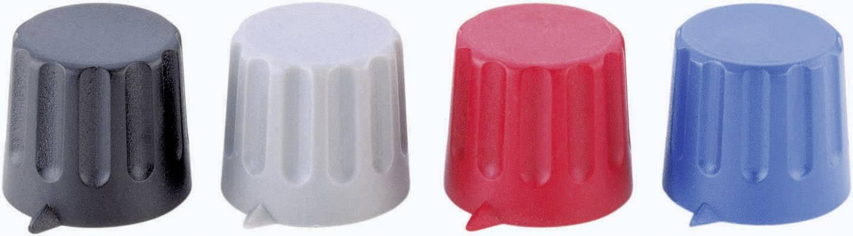 Otočný gombík Strapubox 20/6, (Ø x v) 20 mm x 17 mm, červená, 1 ks