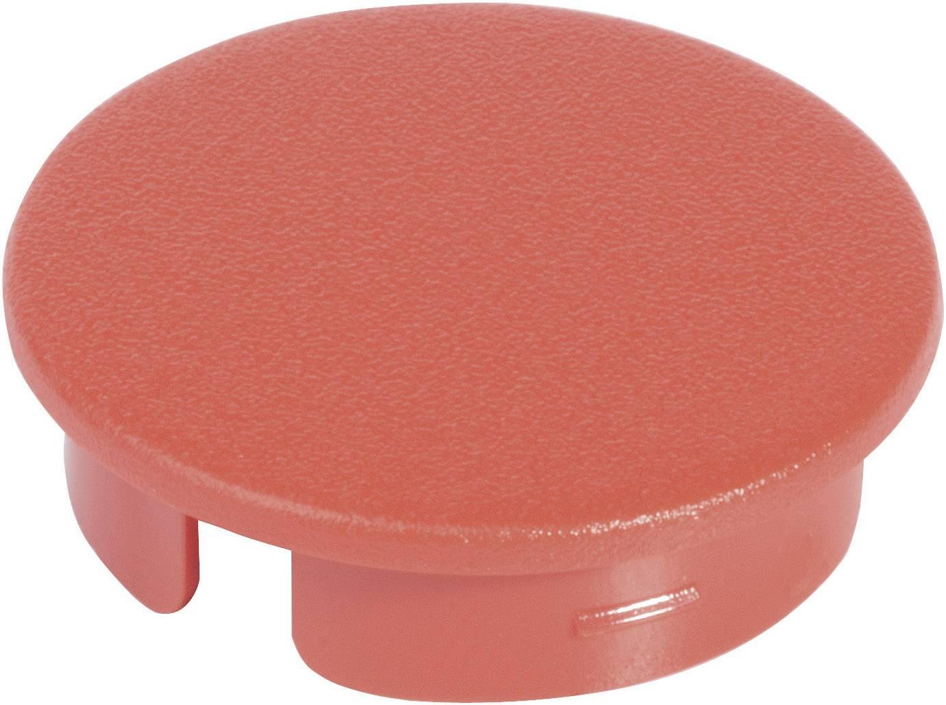 Krytka na otočný knoflík bez ukazatele OKW, pro knoflíky/O 16 mm, červená