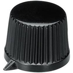 Otočný gombík OKW A1613560, (Ø x v) 19.9 mm x 15.5 mm, čierna, 1 ks