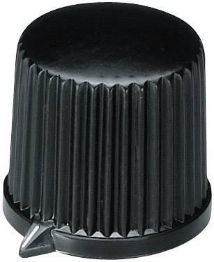 Otočný knoflík s ukazatelem OKW, 6 mm, černá