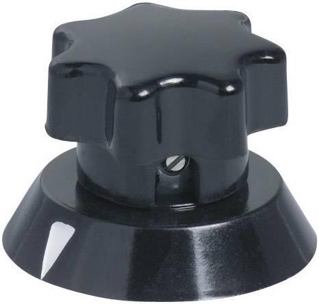 Otočný gombík OKW A1342660, (Ø x v) 41.5 mm x 25 mm, čierna, 1 ks