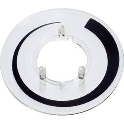Číselník na guľatú hlavicu s priemerom 23 mm Označenie prahové hodnoty OKW A4423020 ATT.LOV.FITS4_STUD gombík 23 mm 1 ks