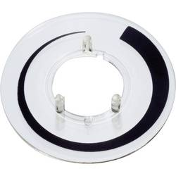 Prahová stupnice OKW, vhodná pro knoflík Ø 23 mm, transparentní Označení prahové hodnoty OKW A4423020 Vhodné pro knoflík knoflík 23 mm 1 ks