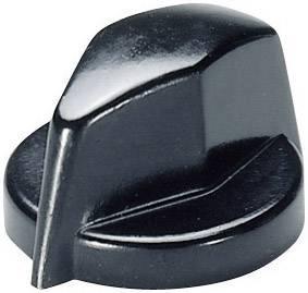 Otočný gombík OKW A1311860, (Ø x v) 18.8 mm x 12.5 mm, čierna, 1 ks