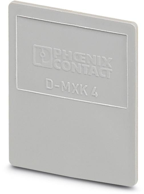 End cover D-MXK 4 Phoenix Contact D-MXK 4 0561015, 50 ks