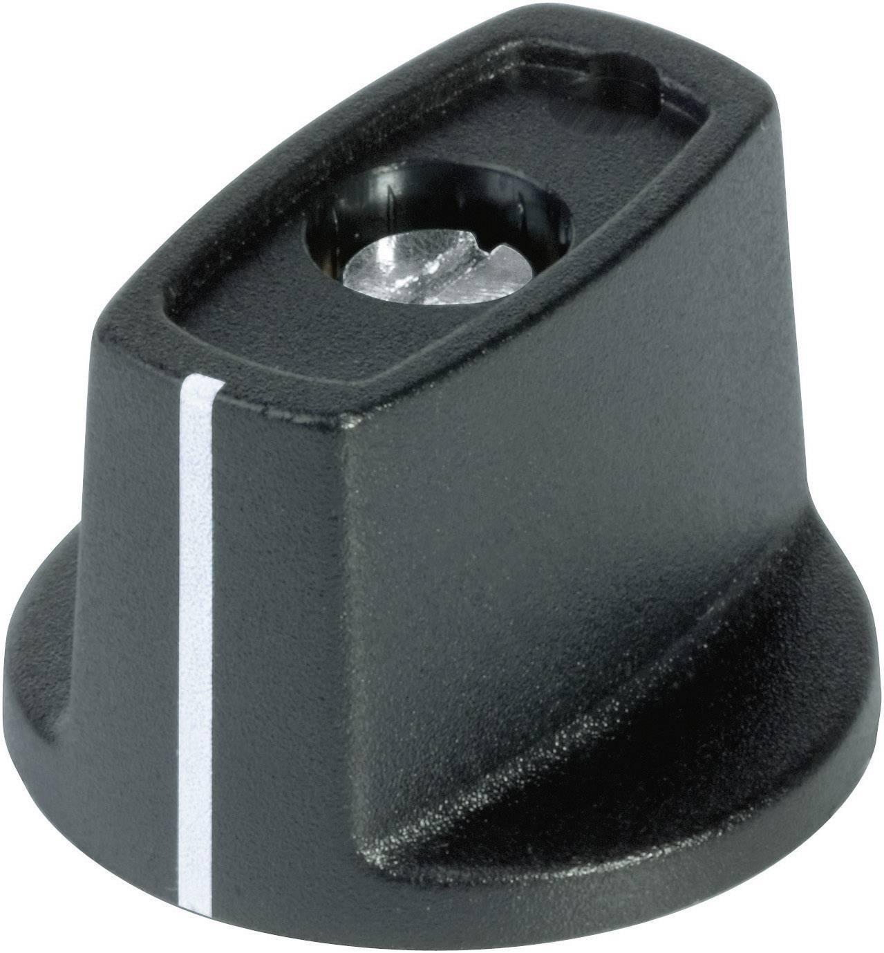 Otočný knoflík s ukazatelem (/O 16 mm) OKW, 4 mm, černá