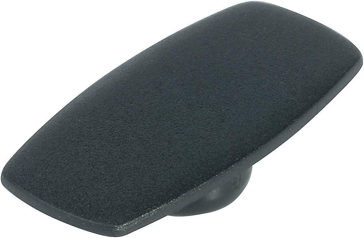 Krytka na ovládací knoflík bez ukazatele OKW, pro knoflíky/O 16 mm, černá