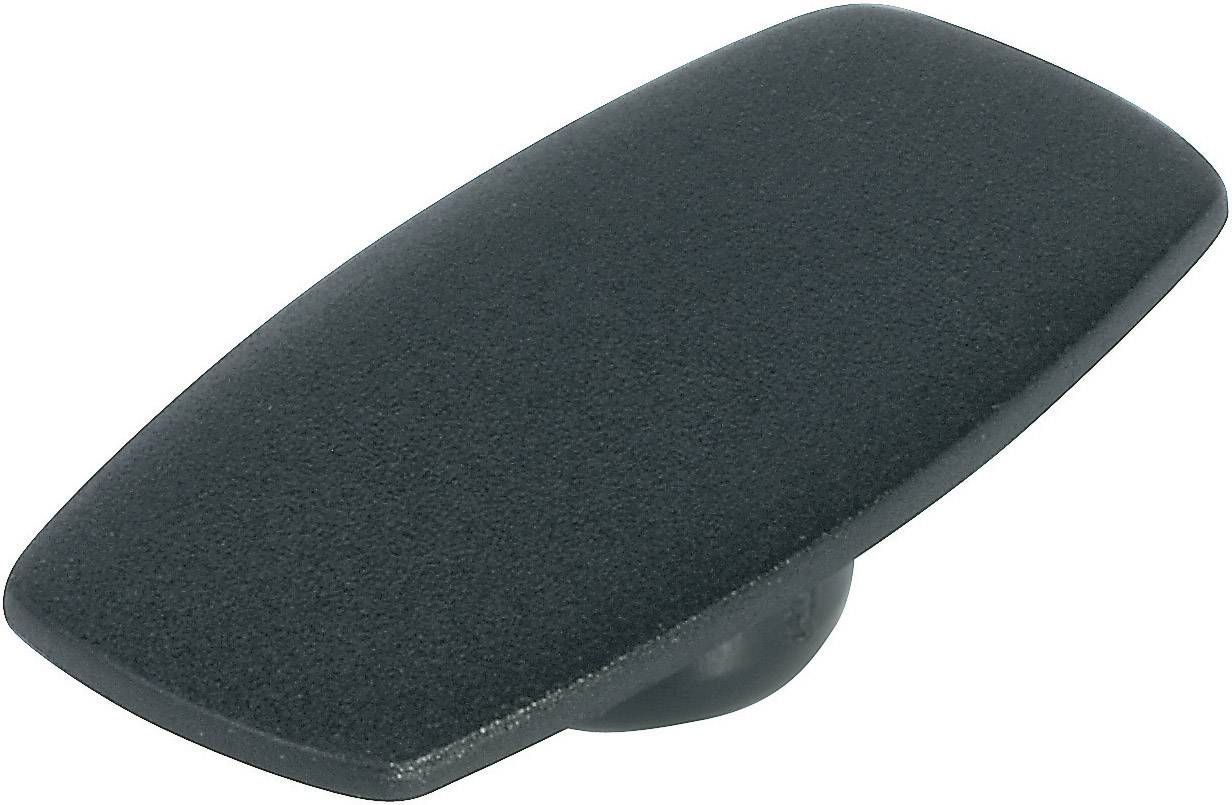 Krytka na ovládací knoflík s ukazatelem OKW, pro knoflíky/O 31 mm, černá