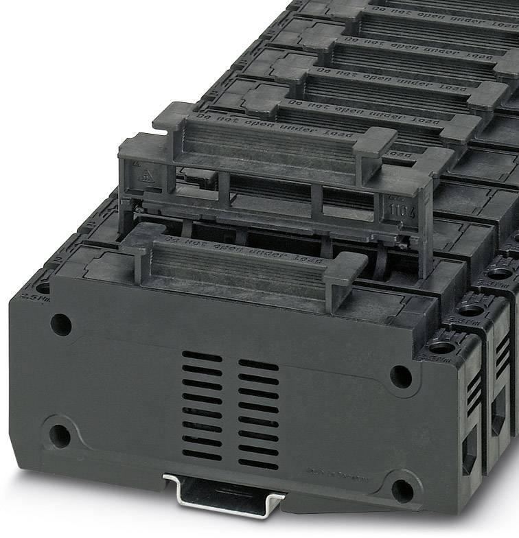 Jisticí řadová svorka Phoenix Contact UK 10,3-HESI 1500V 3062760, 5 ks, černá
