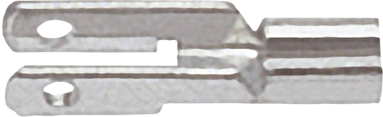 Plochý rozdělovač Klauke 735 2.8 mm x 0.8 mm, 180 °, neizolované, kov, 1 ks