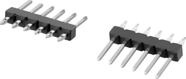 Pinová lišta W & P Products 943PFS-12-010-00, 1-pól., 2,54 mm, 25,4 x 2,5 x 11,3 mm