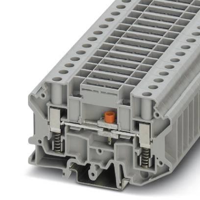 Oddělovací svorka Phoenix Contact USST 6-T/SB 3070310, 50 ks, šedá