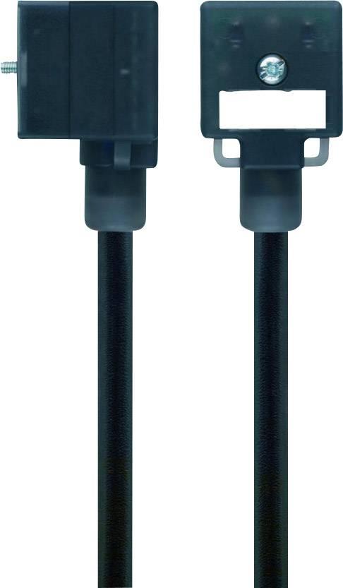Propojovací ventil Escha VA21-230.0-5/S370 (8047806), IP67 / IP69K, 5 m, černý