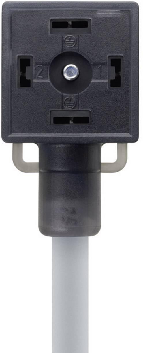 Propojovací ventil Escha VA21-230.0-5/P01 (8047823), IP67 / IP69K, 5 m, černý