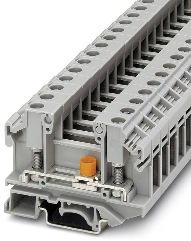 Oddělovací svorka Phoenix Contact OTTA 6-T-P/P 0790462, 50 ks, šedá