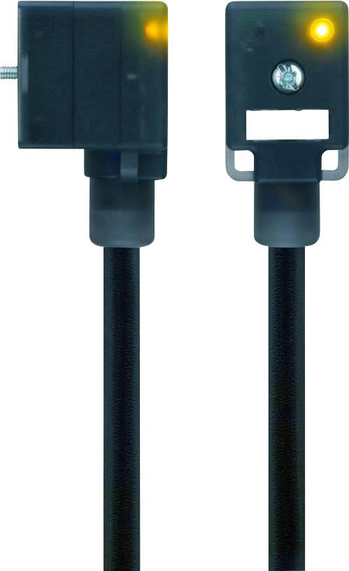 Propojovací ventil Escha VB21-230.5-5/S370 (8047810), IP67 / IP69K, 5 m, černý