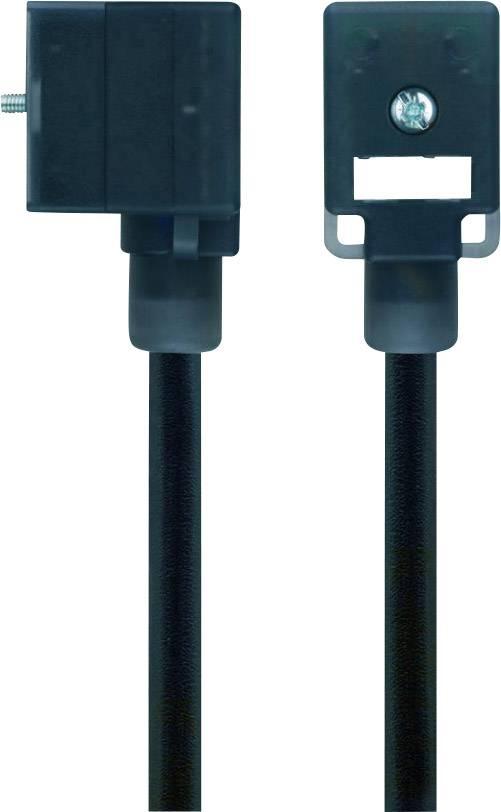 Propojovací ventil Escha VBI21-230.0-5/S370 (8047813), IP67 / IP69K, 5 m, černý