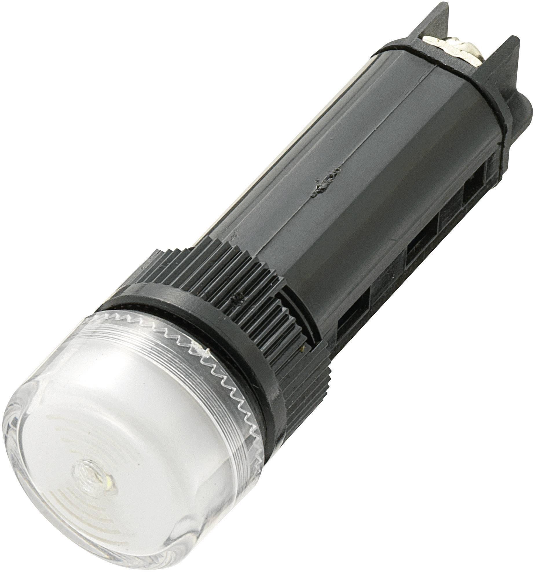 Sirénka / kontrolka, 80 dB 12 V / DC, bílá