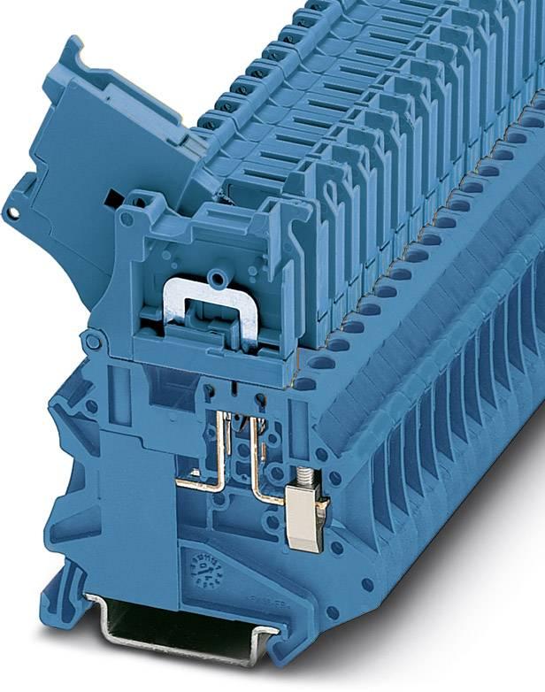 Oddělovací svorka Phoenix Contact UT 4-HEDI BU 3046456, 50 ks, modrá