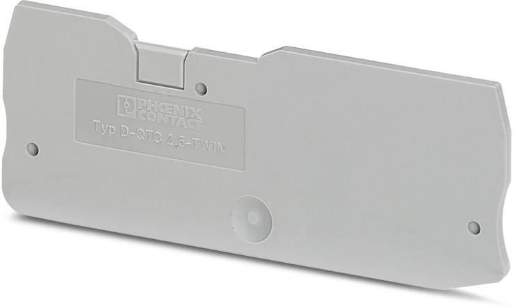 End cover D-QTC 2,5-TWIN Phoenix Contact 50 ks