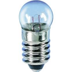 Kulatá žárovka Barthelme, 24 V, 3 W, 125 mA, E10, čirá