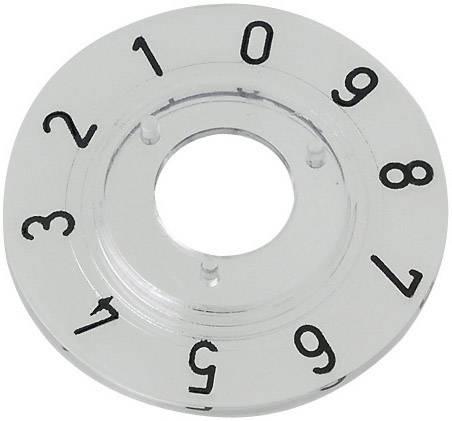 Kruhová stupnice Mentor 331.203, pro sérii 15, rozsah 0-9