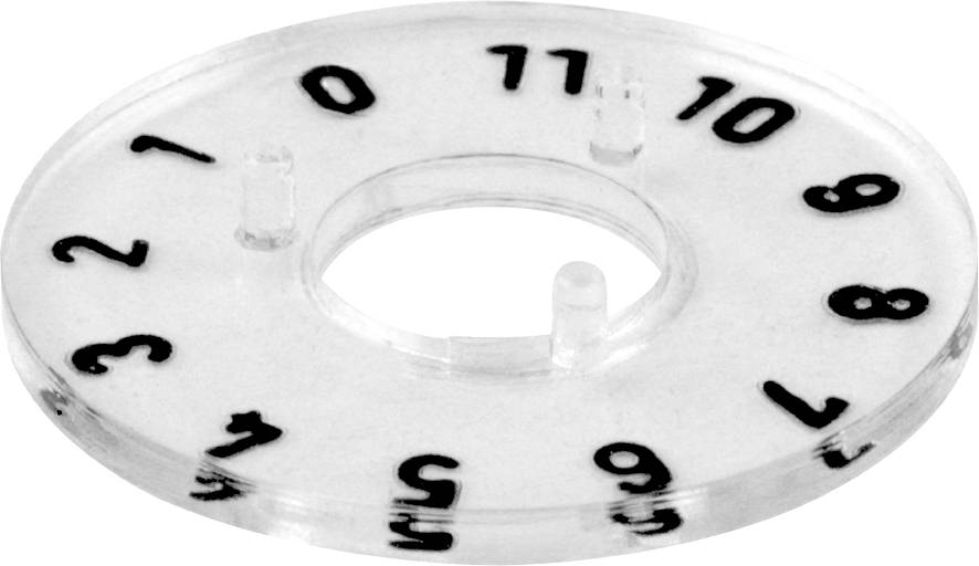 Kruhová stupnice Mentor 331.204, pro sérii 15, rozsah 0-11