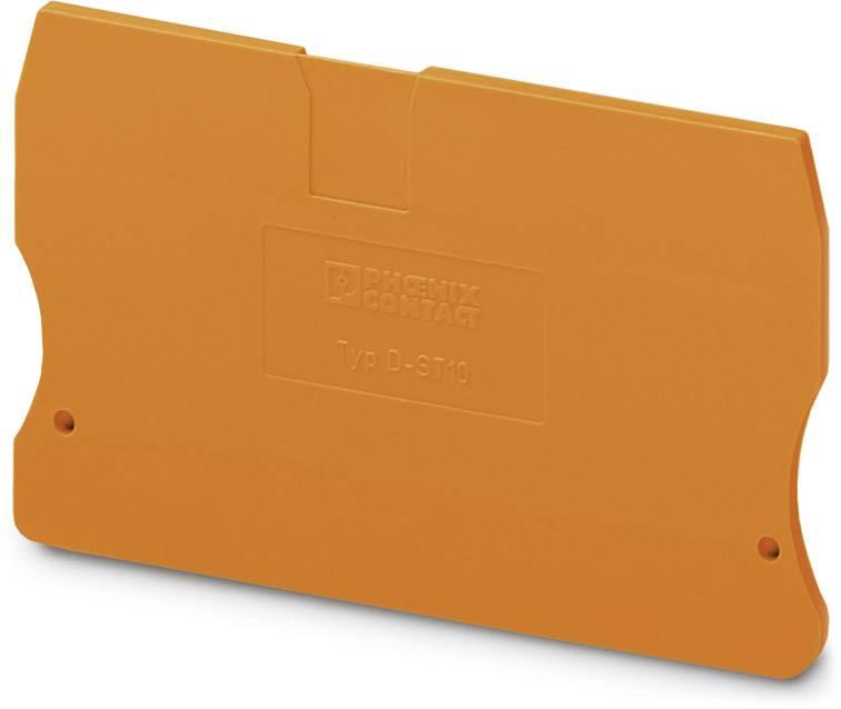 End cover D-ST 10 OG Phoenix Contact 50 ks