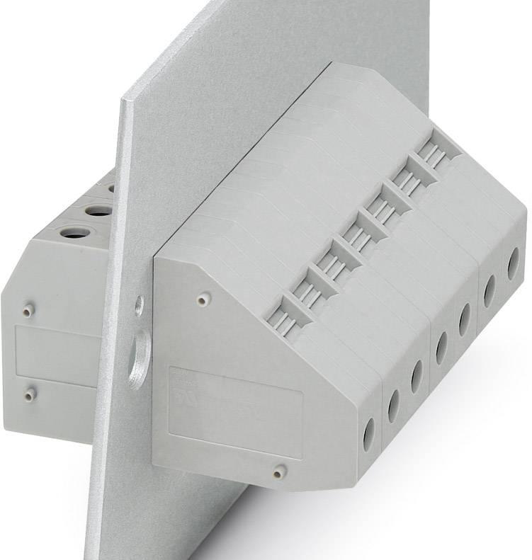 Svorka průchodky Phoenix Contact HDFKV 16 3001734, 50 ks, šedá