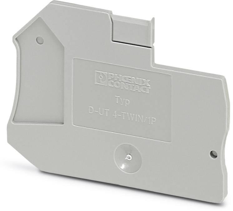 End cover D-UT 4-TWIN/ 1P Phoenix Contact 50 ks