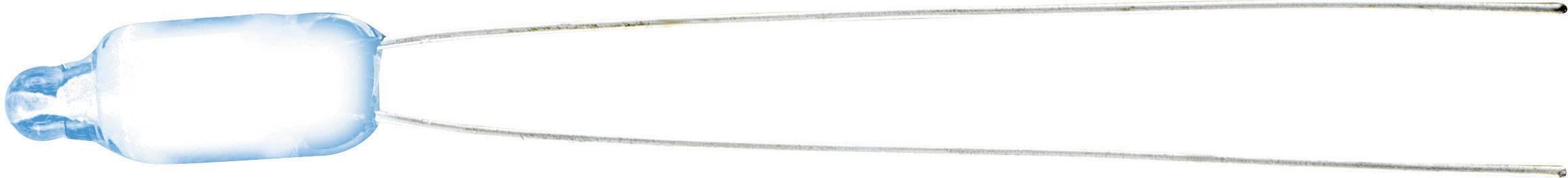 Doutnavka, 0,8 mA, 230 V, 6 x 16 mm, ledově modrá
