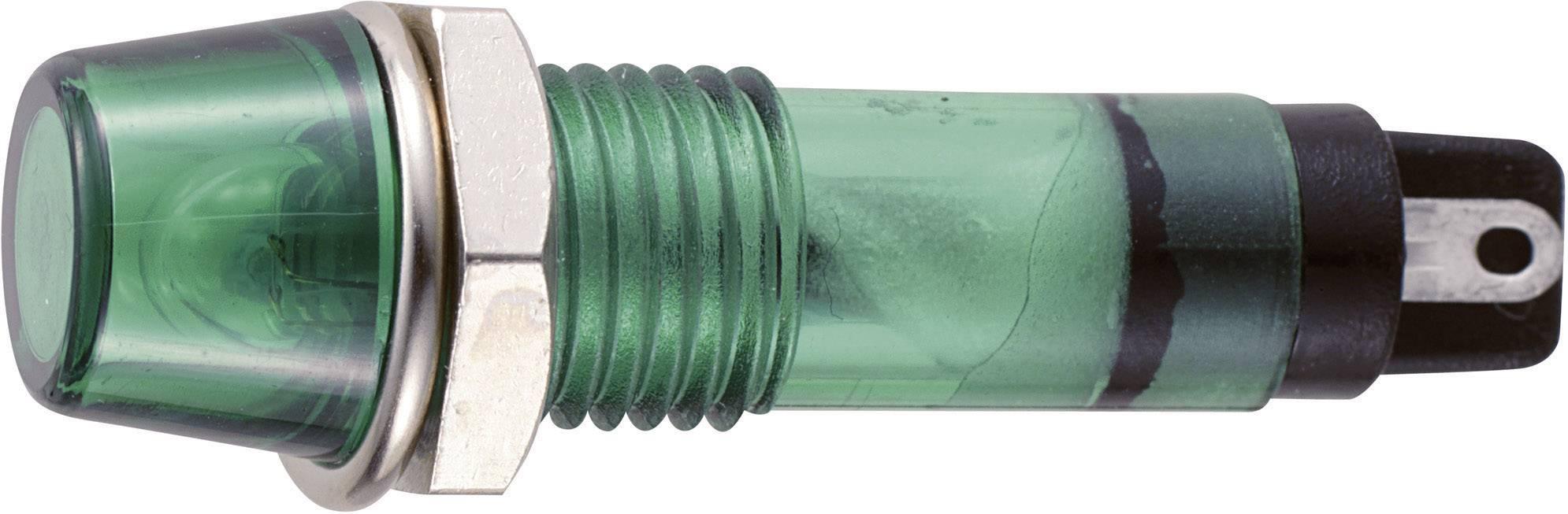 Sedeco B-403 24V GREEN, zelená, 1 ks