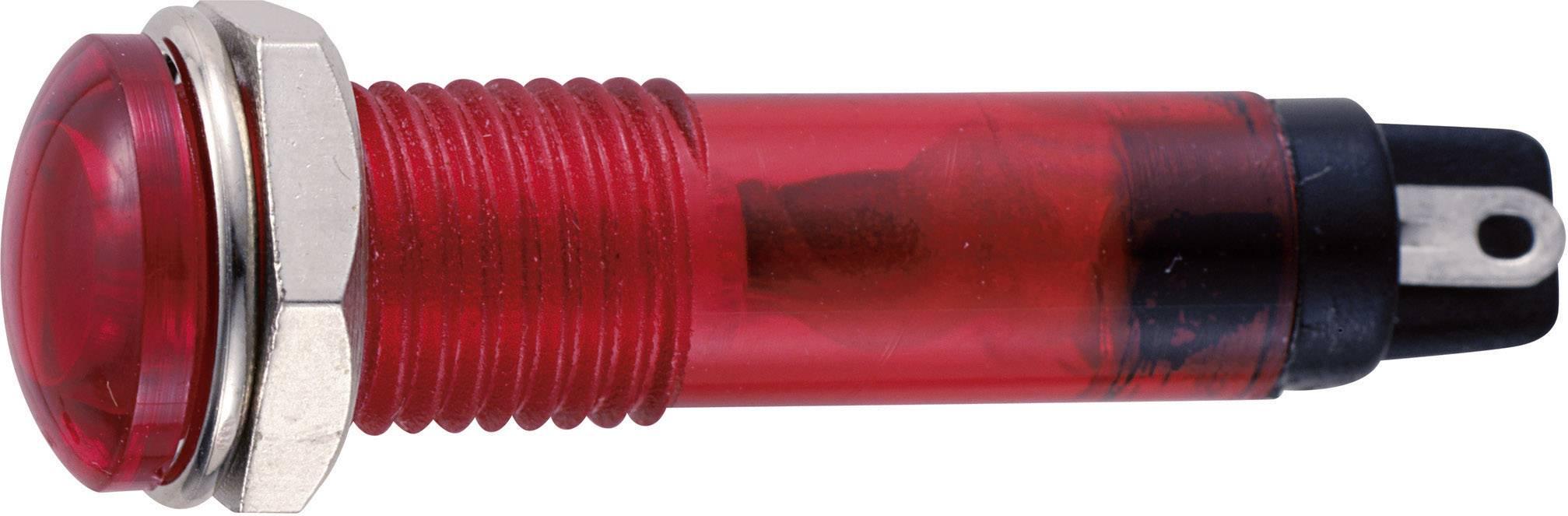 Sedeco B-405 12V RED, červená, 1 ks