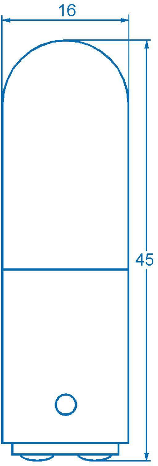 Žiarovka Barthelme 00100029, 220 V, 260 V, 6 W, 10 W, číra, 1 ks