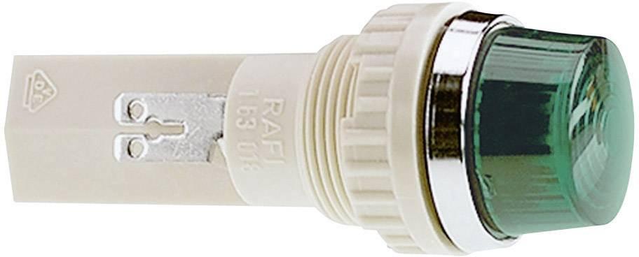 Pouzdro pro signalizační světla RAFI, červená (transpa.), 18,2 mm, kulaté