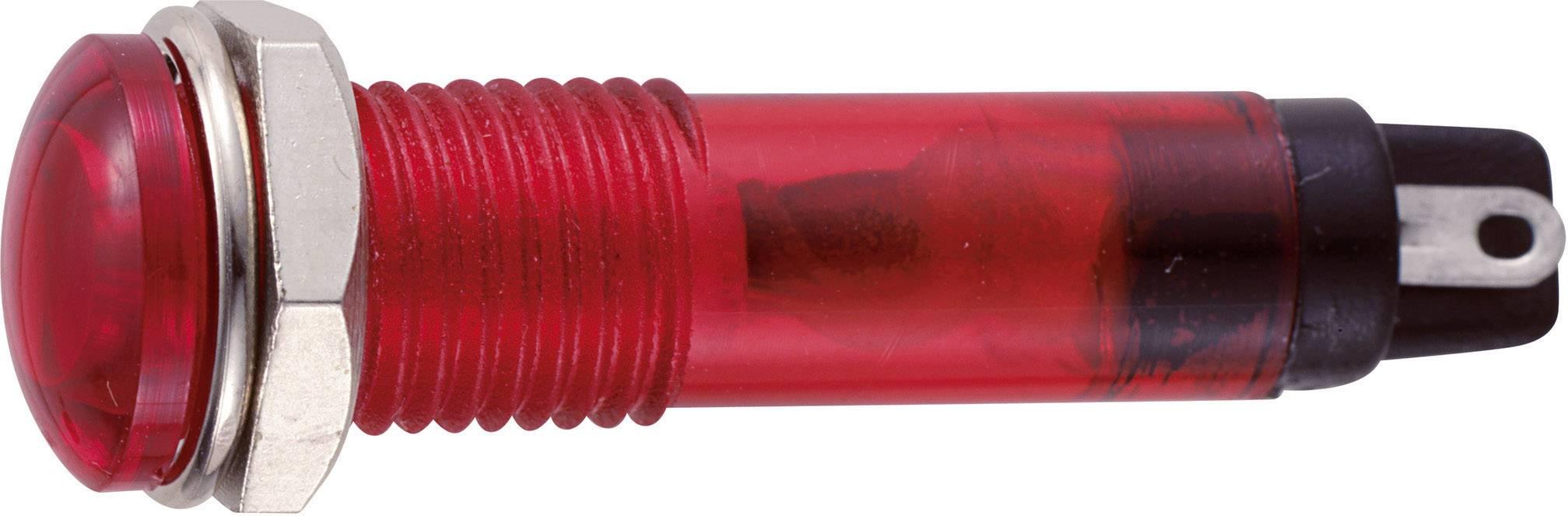 Sedeco B-405 24V RED, červená, 1 ks