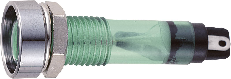 Sedeco B-406 12V GREEN, zelená, 1 ks