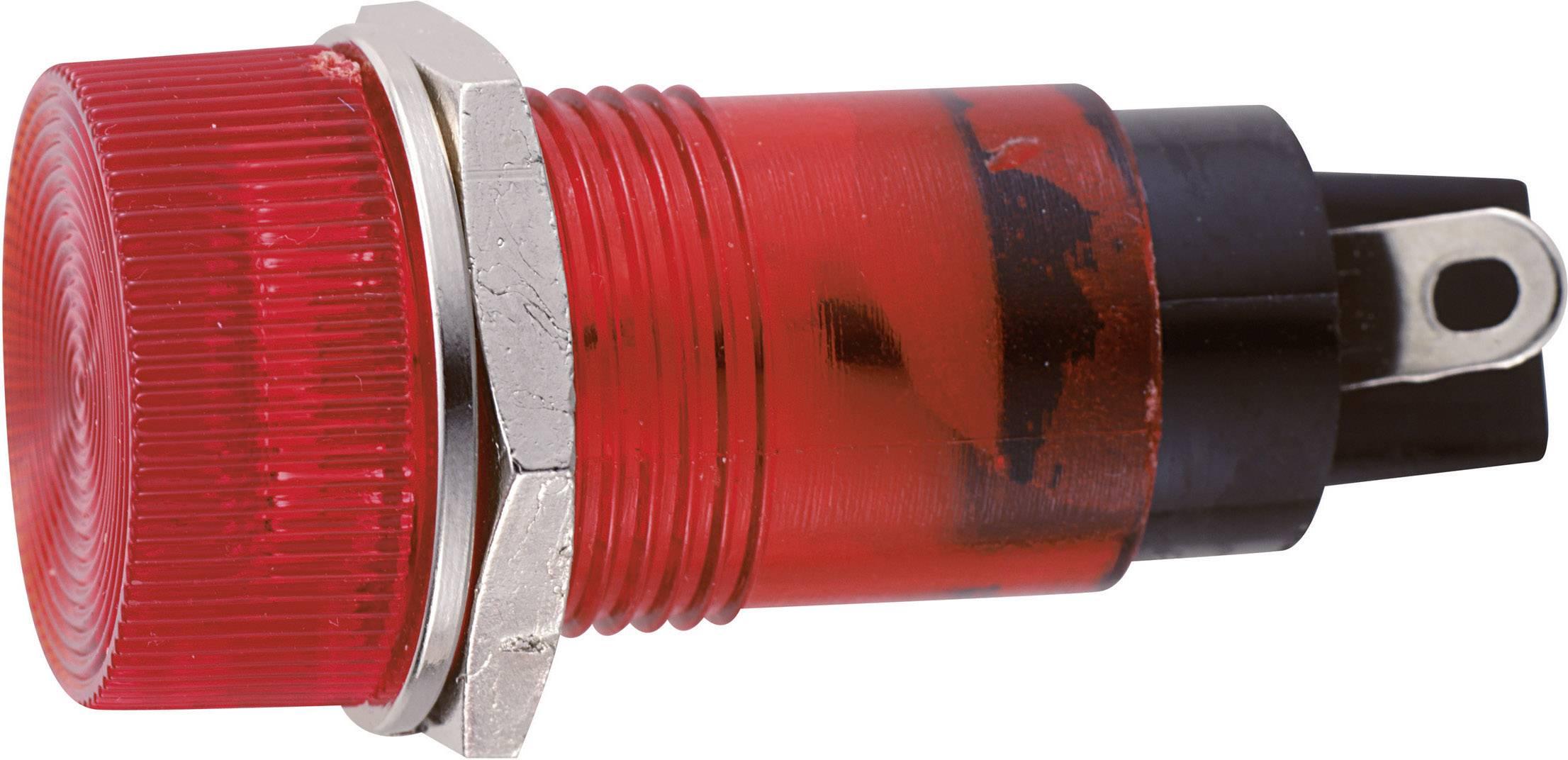 Sedeco B-432 12V RED, červená, 1 ks