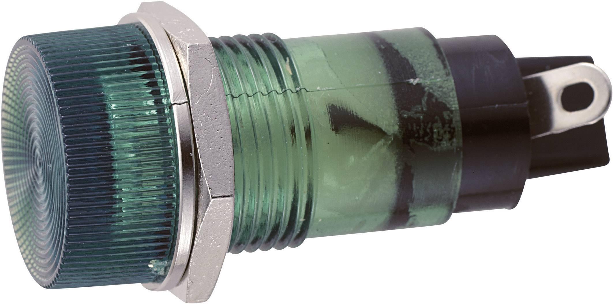 Sedeco B-432 12V GREEN, zelená, 1 ks