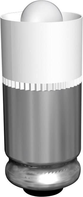 LEDžiarovka Signal Construct MEDG5762, T1 3/4 MG, 12 V/DC, 2000 mcd, 428 mlm, biela
