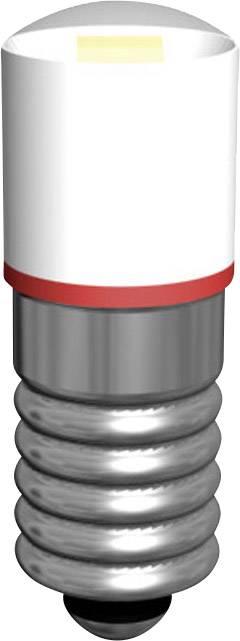 LEDžiarovka Signal Construct MWCE5563, E5.5, 18 V/AC, MWCE 5563, biela