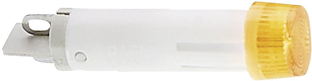 Signalizační světlo RAFI, 24 V, žlutá (transparentní), 7 mm, kulaté