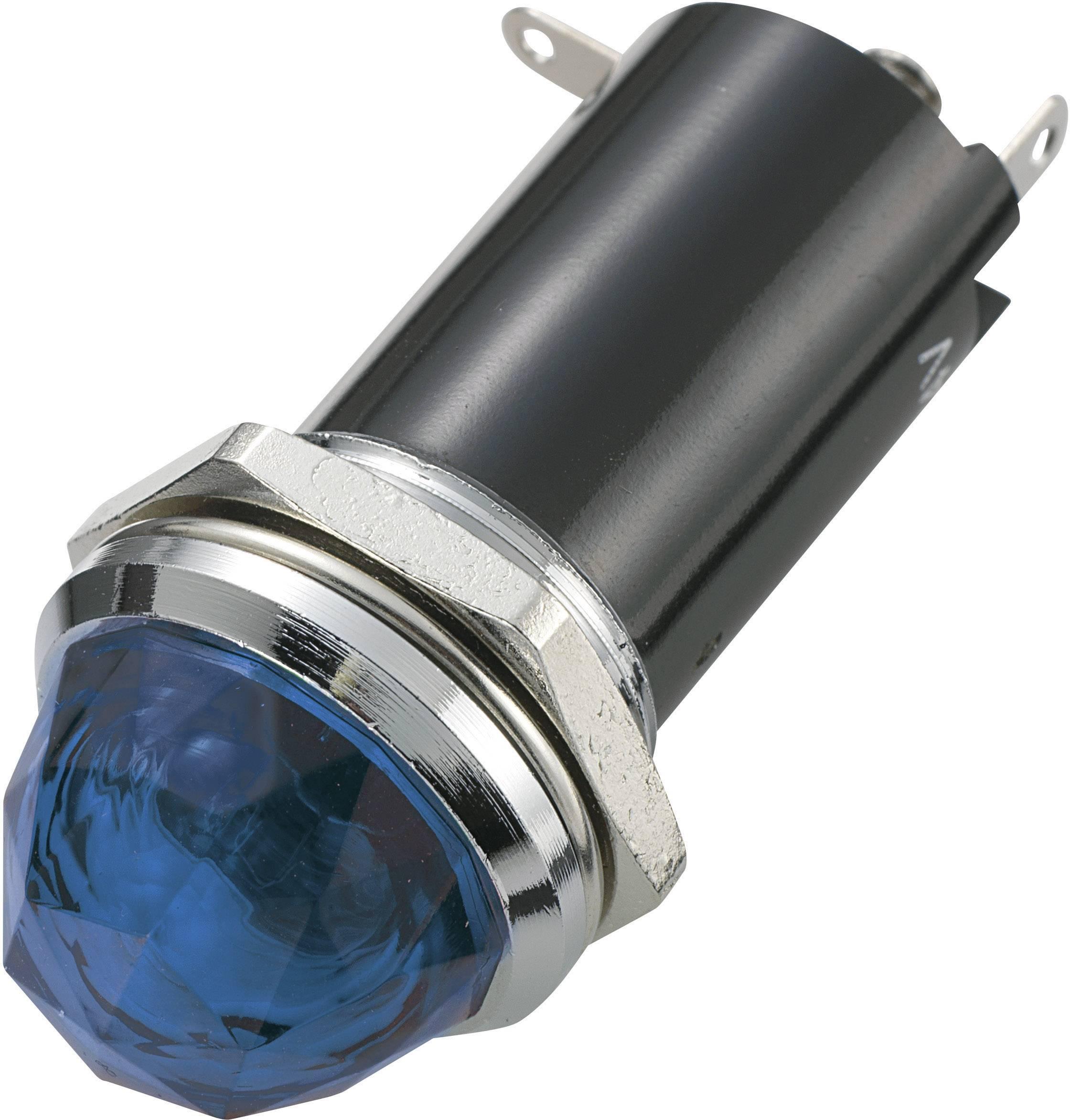Signalizační světlo SCI, 24 V/DC, 16,2 mm, kulaté, modré