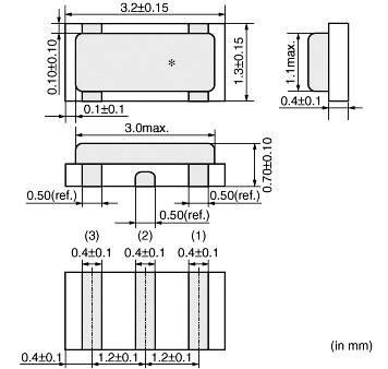 Rezonátor CSTCE Murata, 8.00 MHz