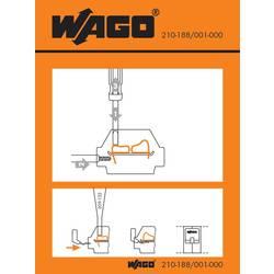 Manipulační nálepka, WAGO 210-188/001-000, 100 ks
