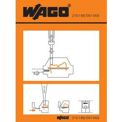 Stickers for operating instructions, WAGO 210-188/001-000, 100 ks
