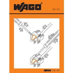 Manipulační nálepka, WAGO 210-406, 100 ks