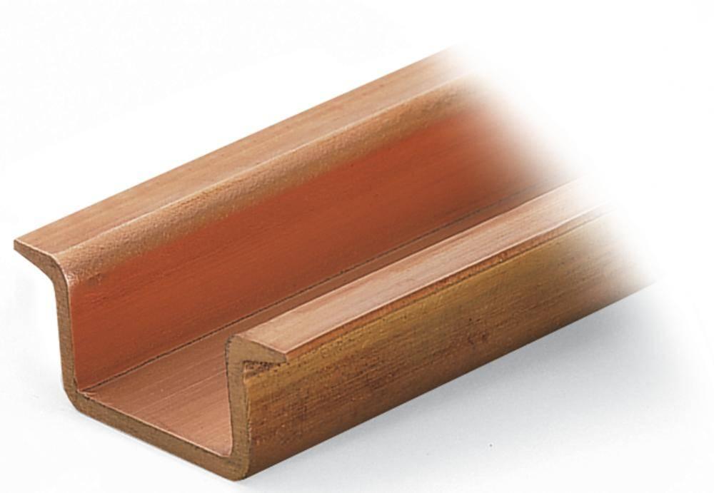 Měděný lištu, WAGO 210-198, 35 mm x 2000 mm x 15 mm , 10 ks