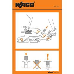 Stickers for operating instructions, WAGO 210-370, 100 ks